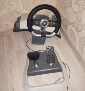Xbox 360 руль и педали