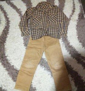 Брюки с рубашкой для мальчика