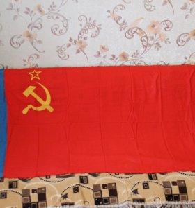 Флаги СССР, 2 шт.