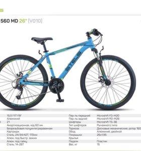 Велосипед Стелс 560 диск тормоза