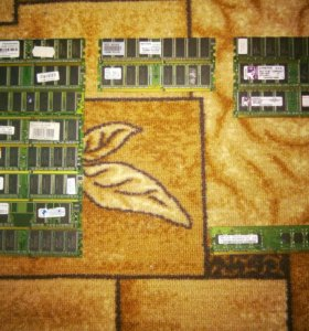 Оперативная память DDR1,DDR2