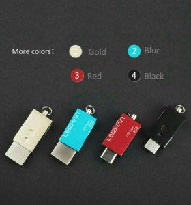 Флешка USB - IPHONE (черная)