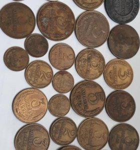 Монеты старые СССР овские