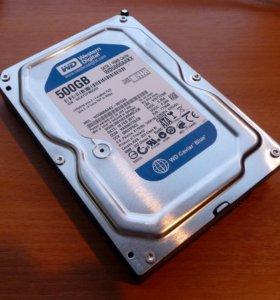 Жесткий диск для пк на 500 Гб, SATA