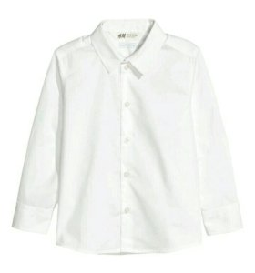 Рубашка фирмы hm одета 1 раз