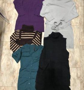 Вещи пакетом. Туники или короткие платья.
