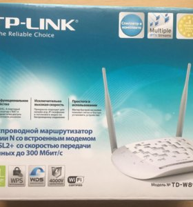ADSL2+ беспроводной маршрутизатор.