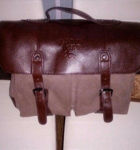 Мужская сумка новая.