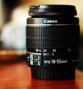 Canon EF-S 18-55мм