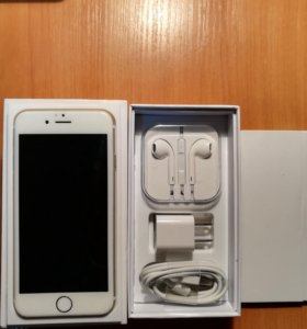iPhone 6s gold 64gb(оригинал,не реф)