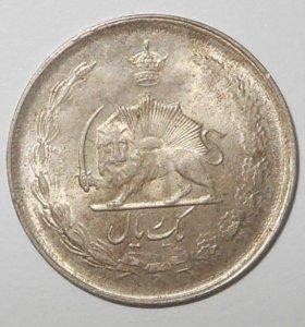 Монета серебряная с браком , редкость !