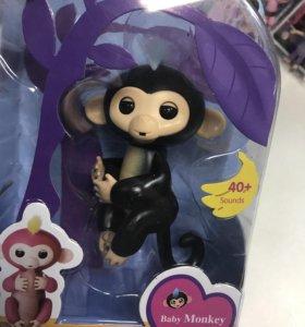 Интерактивная обезьяна новая в упаковке
