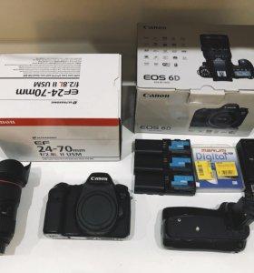 Canon 6D + Canon EF 24-70mm f/2.8L II USM