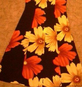 Новое летнее платье р.48-50