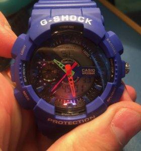 G-Shock синие