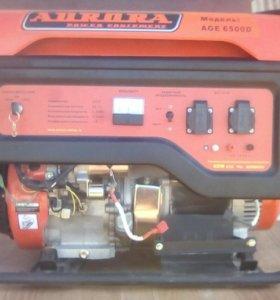 Бензо генератор АVRORA AGE 6500D