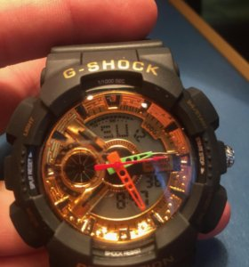 Новые G-Shock с развоцветной подсветкой