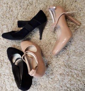 Туфли новые.37.38.