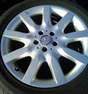 Mercedes W221 оригинальные диски R18 5*112