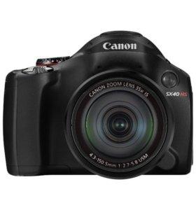 Фотоаппарат Canon SX40 HS
