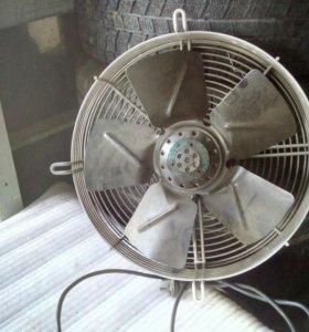 Строительный электро вентелятор
