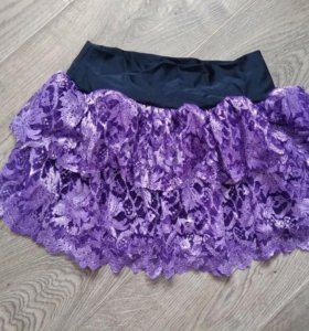 Гипюровая юбка. Новая