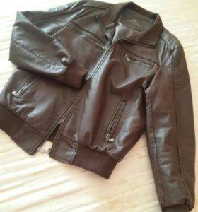 Куртка кожанная мужская р 50