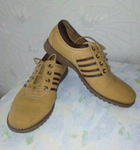 мужские ботинки. Новые😍