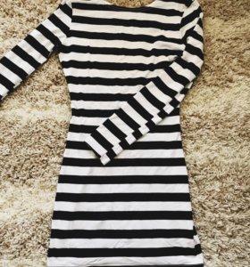 Платье с открытой спиной no name