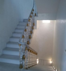 Лестницы из бетона под ключ.