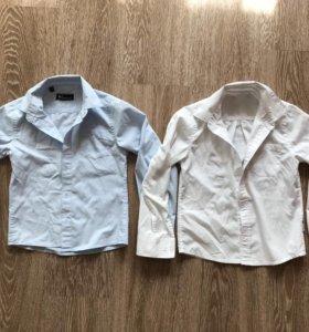 Рубашка голубая Orby