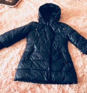 Курточка на девочку весна 146