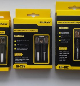 Зарядное устройство Liitokala Lii-100\202\402