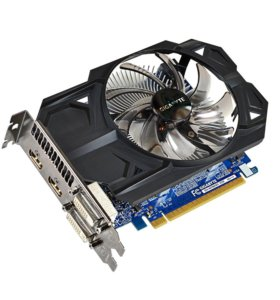 Видеокарта Gigabyte GTX750TI 2G