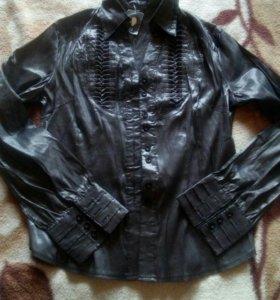 Блузка-рубашка для офиса