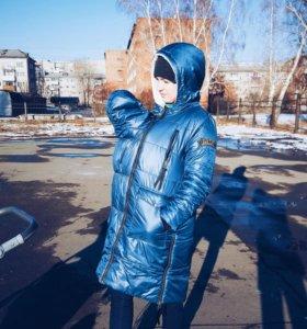 Куртка для беременных / слингокуртка 3 в 1 зимняя