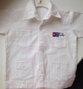 Рубашки 74-86 см