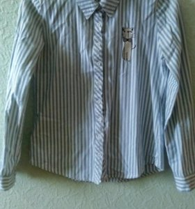 Рубашка с котиком
