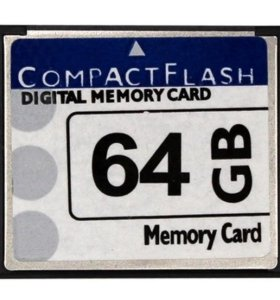 Compact Flash 64 GB