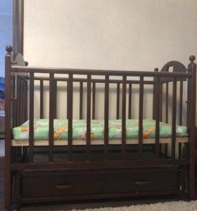 Кровать детская до 3-х лет
