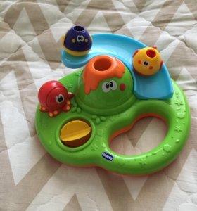 Игрушка для ванной chicco «веселые пузырики»