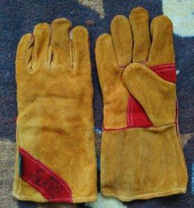 Перчатки сварочные, утепленные