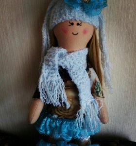 Кукла ручной работы. Отличный подарок для любимых