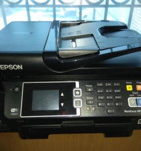 Epson WF3620 с СНПЧ