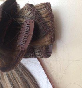 Накладные, искусственные волосы