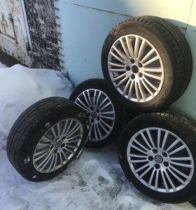 Комплект колёс на литых дисках VW