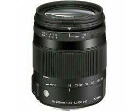 Sigma AF 18-200mm f/3.5-6.3 DC sony