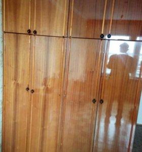 Шкаф одежный с антрисолем