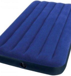 Односпальный надувной матрас INTEX, 99х191х22