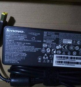 Lenovo 20V 4,5A 90W зарядка блок питания квадрат